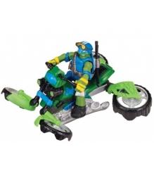 Мотоцикл квадрокоптер Mutation с фигуркой Лео 94262...