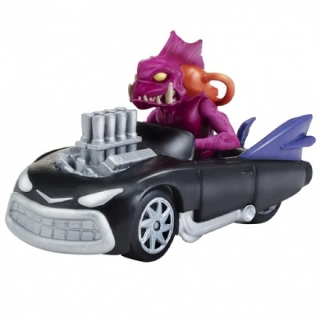 Машинка Черепашки ниндзя 7см Саблезуб на Панцирекрушителе 97212
