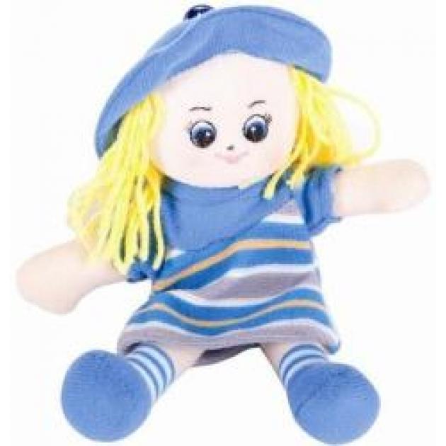 Мягкая игрушка малышка в голубом платье 20 см 30 11bac3513