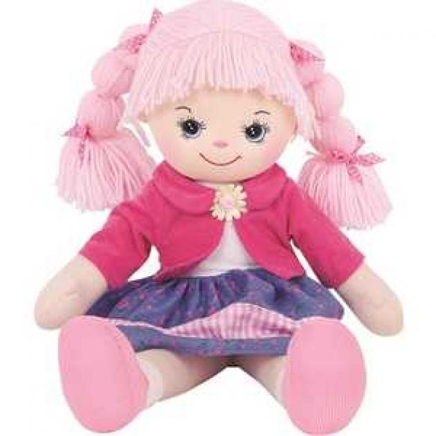 Мягкая игрушка кукла земляничка с двумя косичками 50 см 30 bac6889