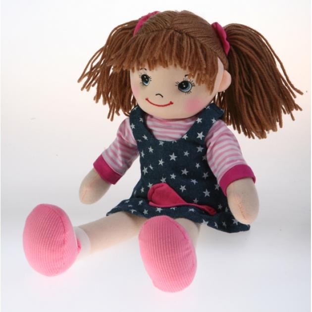 Мягкая игрушка кукла звездочка с двумя хвостиками 50 см 30 bac6905