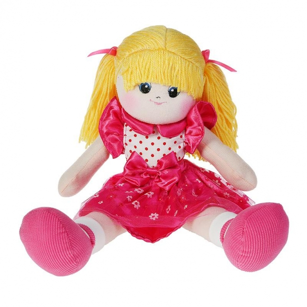 Мягкая игрушка кукла модница с двумя хвостиками 60 см 30 bac7007