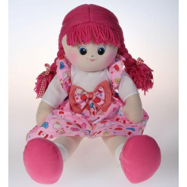 Мягкая игрушка кукла малинка с двумя косичками 50 см 30 bac7020