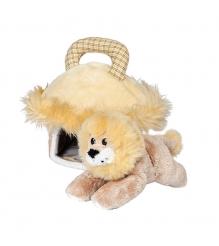 Мягкая игрушка домик сумка со львом 15 см 21 904902 2...