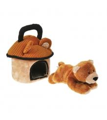 Мягкая игрушка домик сумка с мишкой 15 см 21 904902 1