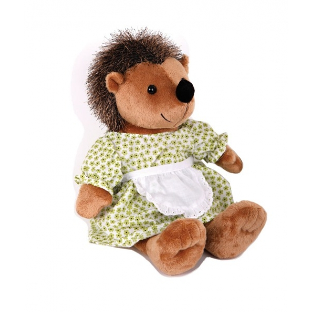 Мягкая игрушка ежик в платье 23 см 14 71599 2