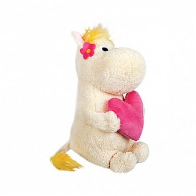 Мягкая игрушка фрекен снорк с сердечком в руках 23 см 41 5077d1