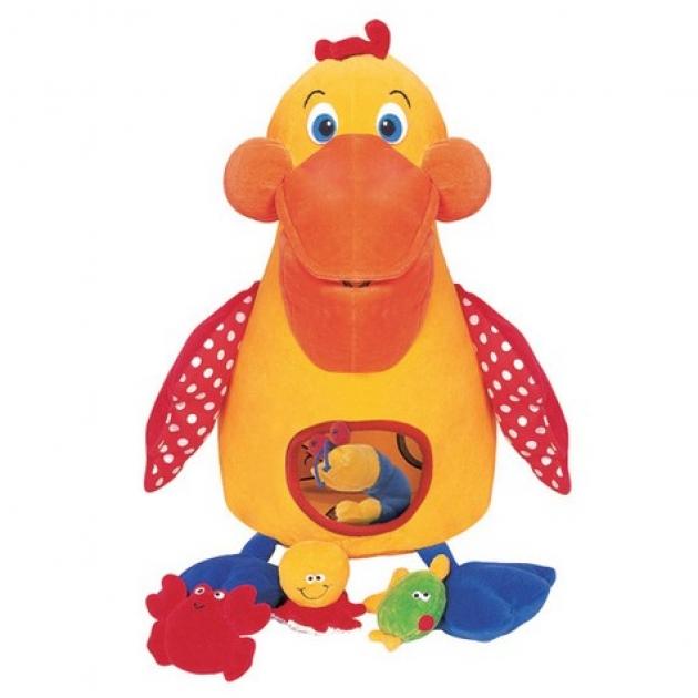 Развивающая игрушка Голодный пеликан с игрушками в к-те K's kids (Арт. KA208B)