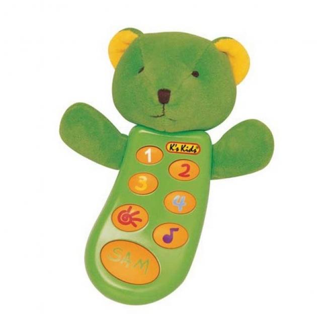 Музыкальный телефон с функцией записи Сэм K's kids (Арт. KA296PB)