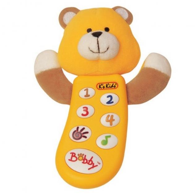 Музыкальный телефон с функцией записи Бобби K's kids (Арт. KA299PB)