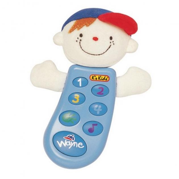 Музыкальный телефон с функцией записи Вэйн K's kids (Арт. KA300PB)