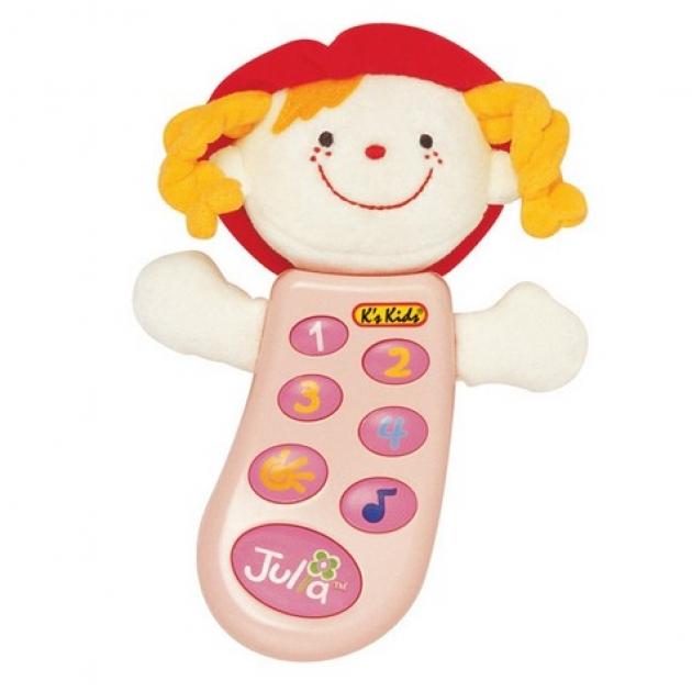Музыкальный телефон с функцией записи Джулия K's kids (Арт. KA301PB)