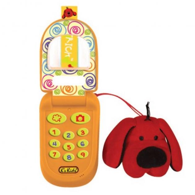 Музыкальный телефон с функцией записи Патрик K's kids (Арт. KA499)