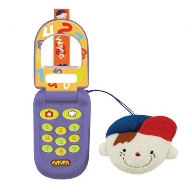 Музыкальный телефон с функцией записи Вэйн K's kids (Арт. KA516)