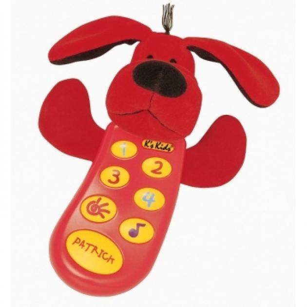 Музыкальный телефон K s Kids с записью Патрик в руссифицированной упаковке (Арт. KA298PB)