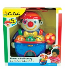 Пластиковый сортер Веселый клоун с мячами K's Kids KA369P...