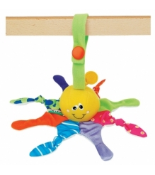Игрушка-подвеска Маленький Осьминог (гремит) K's Kids KBA16226...