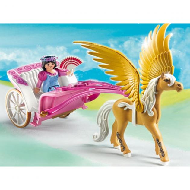 Playmobil серия сказочный дворец Повозка запряженная Пегасом 5143pm