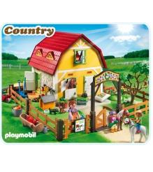 Playmobil серия конный клуб Конюшня для пони 5222pm