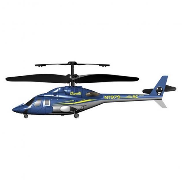 Вертолет на радиоуправлении Silverlit Вертолет Bell 222 трехканальный 85913