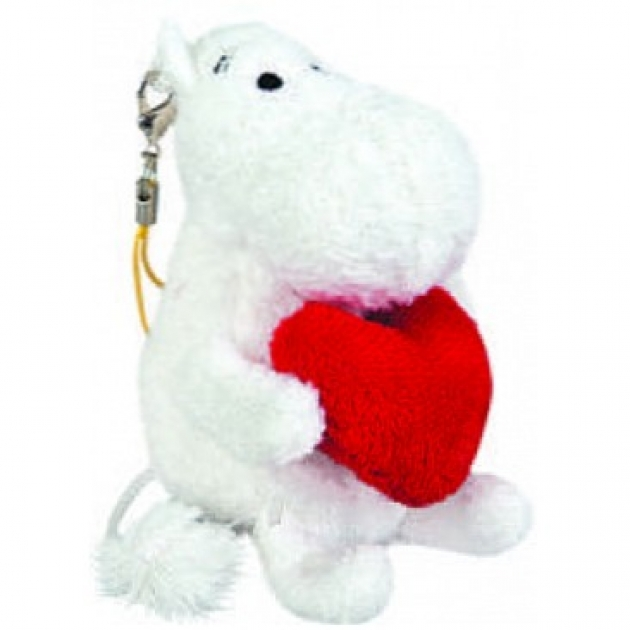 Мягкая игрушка муми тролль брелок 7 см 41 5077g