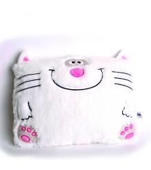 Мягкая игрушка подушка веселый котик 40*28 см 18 3027