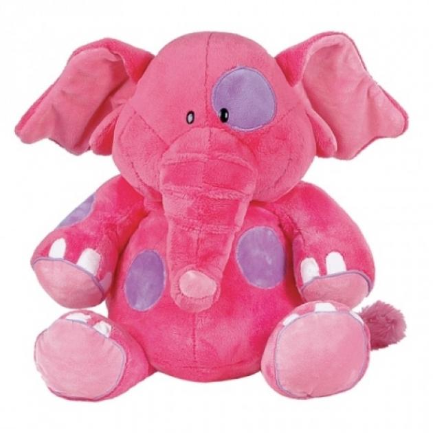 Мягкая игрушка слоник розовый 36 см 7 45173