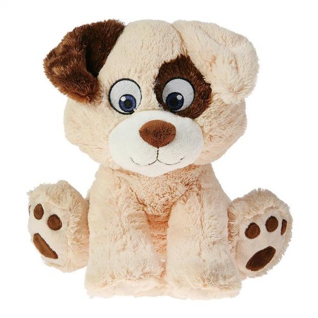 Мягкая игрушка собака милаха беж. 30 см 25 13001 1