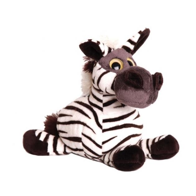Мягкая игрушка зебра глазастик 17 см 18 9392z 1