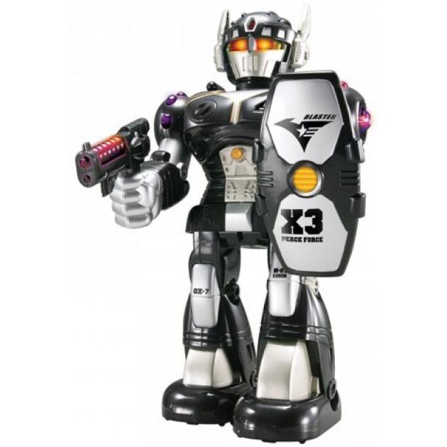 Детский робот-воин чёрный Hap-p-Kid