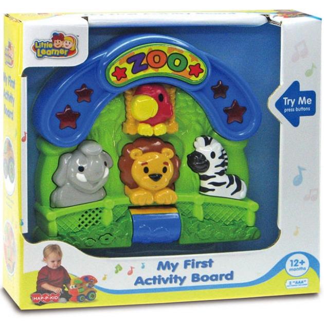Обучающая панель Hap-p-Kid Зоопарк 4218T
