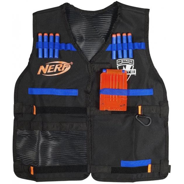 Nerf Жилет Элит Агента со стрелами и обоймами Hasbro A0250