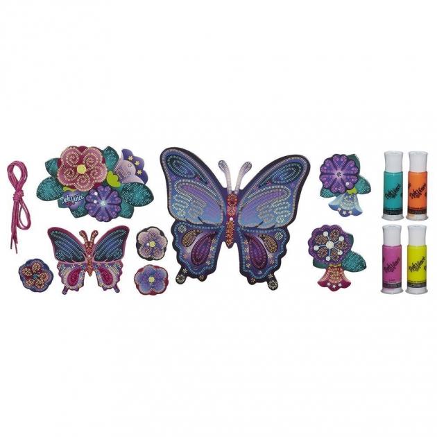 Детский пластилин play doh пластилин dohvinci настенное украшение бабочки a9210