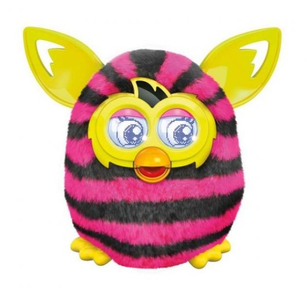 Ферби Furby Boom Hasbro A4337 Теплая волна Straight Stripes