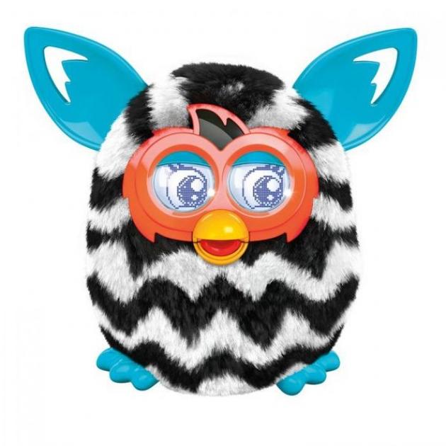 Ферби Furby Boom Hasbro A4339 Теплая волна Figure Zigzag Stripes