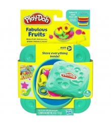 Детский пластилин play doh пластилин набор любимая еда фрукты 20608