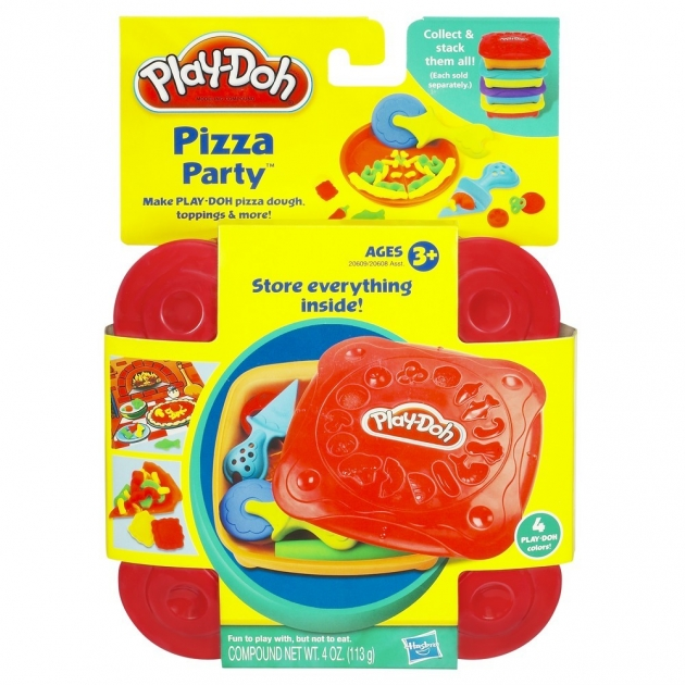 Детский пластилин play doh пластилин набор любимая еда пицца 20608