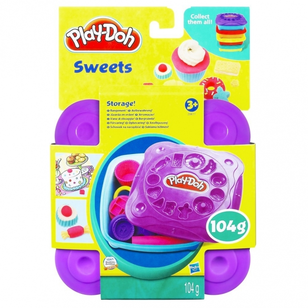 Детский пластилин play doh пластилин набор любимая еда сладости 20608