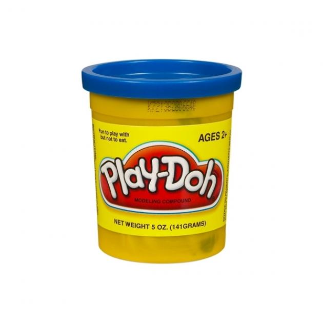 Детский пластилин play doh пластилин в банке синий 22002148