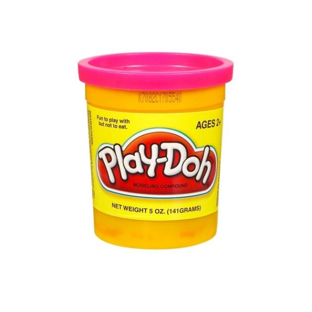 Детский пластилин play doh пластилин в банке розовый 22002148