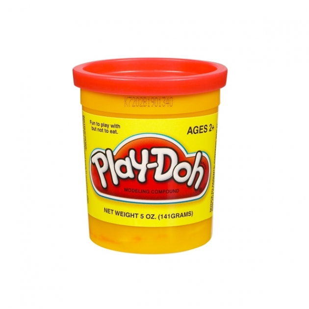 Детский пластилин play doh пластилин в банке красный 22002148