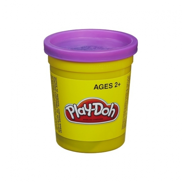 Детский пластилин play doh пластилин в банке фиолетовый 22002148