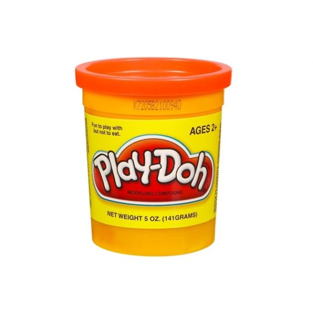 Детский пластилин play doh пластилин в банке оранжевый hasbro 22002148