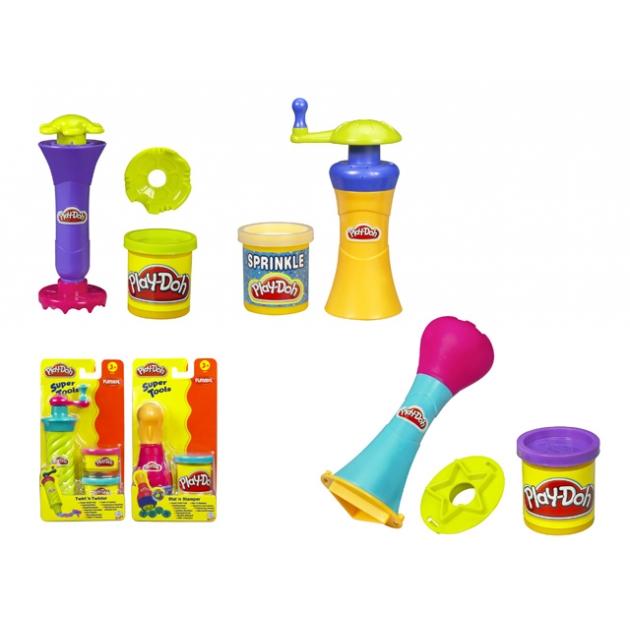 Детский пластилин play doh набор супер инструменты 22825148