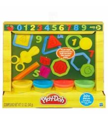 Детский пластилин play doh набор мини учимся считать 49377148...