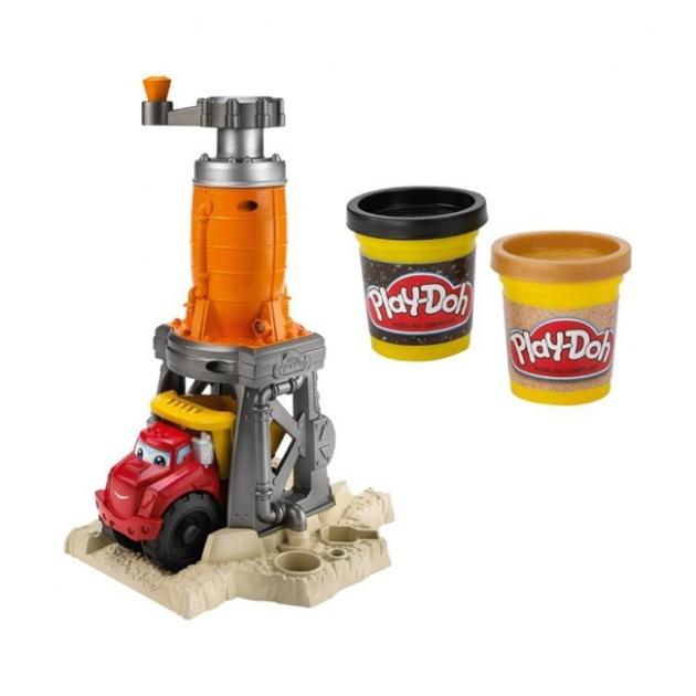 Детский пластилин play doh игровой набор пластилина строительный hasbro хасбро 49413h