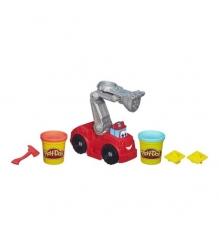 Детский пластилин play doh набор игровой бумер: пожарная машина a5418e24...