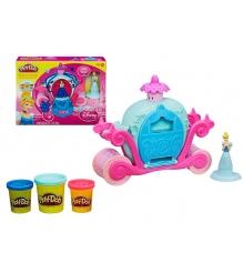 Детский пластилин play doh игровой набор волшебная карета золушки a6070e24...