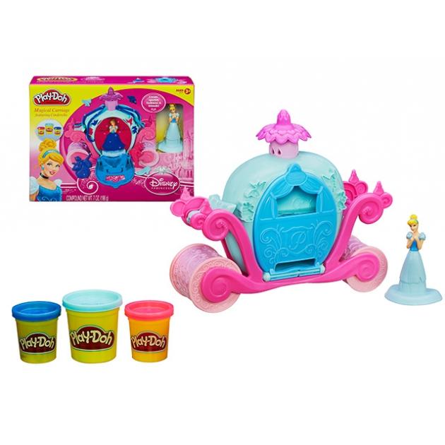 Детский пластилин play doh игровой набор волшебная карета золушки a6070e24