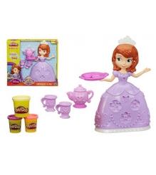 Детский пластилин play doh набор чайная церемония у принцессы софии a7398